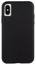 Case-Mate Barely There Genuine Black Leather Case for Apple iPhone X XS NEW