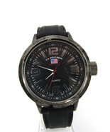 U.S. Polo Assn. Men's Sport Quartz Watch, 50mm Case Analog, Silicone Ban... - $14.80