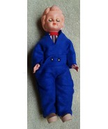 """Vintage 9"""" hard plastic doll • European? • Wooden Shoes • Very cute • ey... - $12.19"""