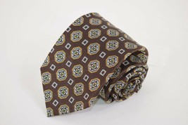 Robert Talbott Best of Class NWT Silk Tie in Multi-Colored Geometric Design - $85.20