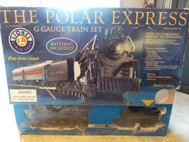 Lionel The Polar Express G Guage Battery Powered Train Set w/Extra Tracks - $195.00