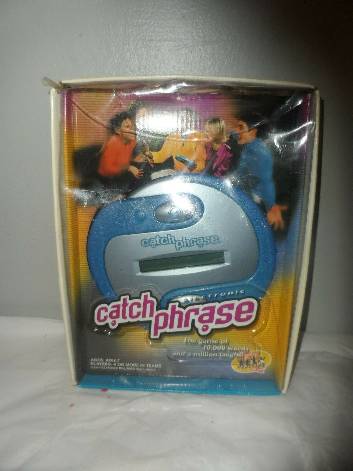 Tested Red /& Black Catch Phrase Electronic Handheld Game Hasbro 2013