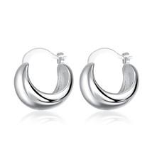 Fashion Jewelry Silver Dangle Drop Stud Hoop Earrings Wedding Jewelry New - $9.79