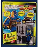 "G.I. Joe Talking Battle Commanders ""Cobra Commander"" - $47.52"