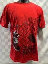 Vintage Reebok Stile Basket The Pump Scarpe da Basket T-Shirt Taglia L - $25.09