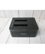 N4 WEme USB 3.0 to SATA Dual-Bay External Hard Drive Docking Station  - $24.74