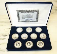 1983-1986 New Era Space Exploration Shuttle Coin 10 1oz .999 Fine Silver... - $478.92