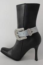 Sexy da Donna Scarponcini Alla Moda Bracciale Metallo Argento - $34.24