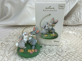 Hallmark Keepsake Ornament All Atwitter Disney's Bambi Thumper - $18.70
