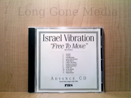 Free To Move Advance CD by Israel Vibration (CD, PROMO, LN/VG, 1996) - $11.78