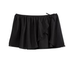 $29 Ideology Girls Ballet Mini Skirt, Black, Size L 14 - $12.86