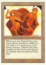Magic: The Gathering 3rd Edition - Primal Clay - $0.25