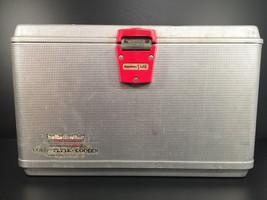 Hamilton Skotch Cold Elite Vintage Aluminum Cooler Chest Made in USA - $80.18