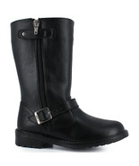 Girl's black riding boots - $43.98
