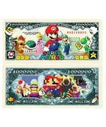 Pack of 25 - Super Mario Brothers Nintendo Classic Collectible Dollar Bills - $9.85