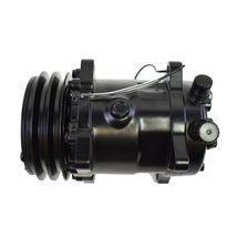 A-Team Performance Sanden 508 Style Black Clutch V-Belt A/C Compressor, Black image 3