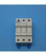 Ferraz Shawmut USBCC3 DIN Rail Fuse Holder Class CC 3 Pole 30 Amps 600 VAC - $9.99