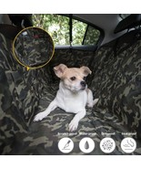 Waterproof Hammock Camouflage Dog Car Seat Cover Mat Pet Travel Universa... - $56.88