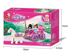 SA set with box Girl Series Pink Dream Princess Royal Carriage Wagon min... - $48.50
