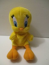 "Warner Brothers Looney Tunes 11"" Talking Tweety Bird 1998 Plush Stuffed ... - $14.85"