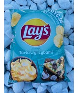Lays TART with MUSHROOMS potato chips 300g Made in Poland FREE US SHIPPING - $9.41