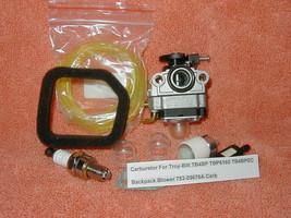 Carburetor For Troy-Bilt TB4BP TBP6160 TB4BPEC Backpack Blower MTD 753-0... - $12.73