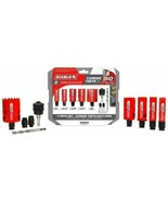 Freud DHS09SGPCT 9 pc. Carbide Tipped General Purpose Hole Saw Set  - $58.41