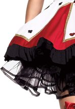 Leg Avenue Women's 2 Piece Pretty Playing Card Costume Includes Dress And Neck P image 4