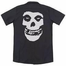 MISFITS Fiend Skull Black Dickies Work Shirt S-3XL NEW! - €11,51 EUR+