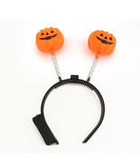 Halloween LED Flashing Light Up Pumpkin Headband Party Costume Prop Acce... - £3.42 GBP+
