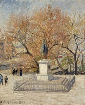 The Museum Outlet - The Statue of Henri IV, 1901, Stretched Canvas Galle... - $98.01