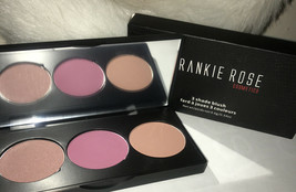 Frankie Rose Cosmetics - 3 Shade Blush - Ravish  NEW IN BOX - $27.84