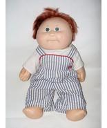 Cabbage Patch Kids Splashin Boy Doll Red Hair Green Eyes Vinyl Body Corn... - $26.71