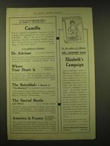 1918 Dodd, Mead & Company Ad - A new story by Elizabeth Robins - $14.99