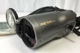 Canon Photura 35mm Film Point Shoot Camera Auto Zoom Lens Flash Manual Book - $19.34