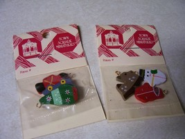 Christmas Tree Ornaments 2 pcks lot of 6 Xmas Dollhouse Miniature 1:12  #1 - $7.91