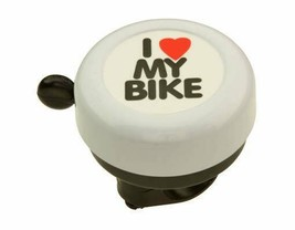 PREMIUM Alloy BELL I Love My Bicycle 55MM LONG, Kids Bike 10 Colors In S... - $14.49