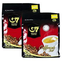 Trung Nguyen - G7 3 In 1 Instant Coffee - 50 Sachets (2 Pack - 100 sache... - $24.74