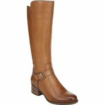 Naturalizer Women Riding Boots Dalton Size US 7M Light Maple Leather - $81.00