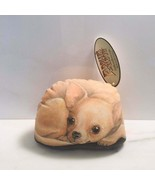 chihuahua PUPPER WEIGHT Beanbag paperweight Leslie Anderson 2003 - $33.66
