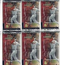 12 new baseball PACKs 1999 UPPER DECK MVP game used jersey souvenirs autographs - $19.75