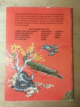 Vintage 1974 Reptiles and Amphibians Golden Exploring Earth Book image 7