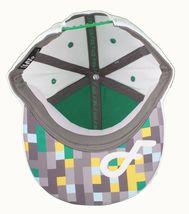 Flat Fitty Hashtag Fresh Wiz Khalifa Green White Snapback Baseball Hat Cap NWT image 7