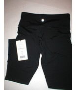 New NWT $80 Womens XS New 90 Degree Reflex Leggings Pants Yoga Black Cro... - $24.00