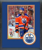 Zack Kassian 2016-17 Edmonton Oilers -11x14 Team Logo Matted/Framed Photo - $42.95