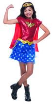 Wonder Woman Tutu DC Comics Superhero Fancy Dress Up Halloween Child Cos... - £14.36 GBP