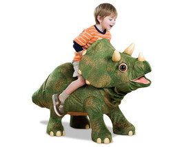 Playskool Kota My Triceratops Ride On Animatronic Life-Size Baby Dinosau... - $445.45