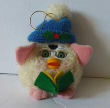 Vintage Holiday Furby plush Christmas Vintage Ornament 1999 - $13.32