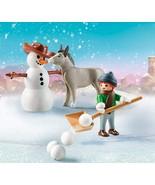 Playmobil Spirit Riding Free Snow Time with Snips & Señor Carrots - $17.76