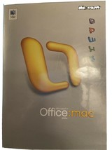 Microsoft Office Mac 2004 with product key - $21.33